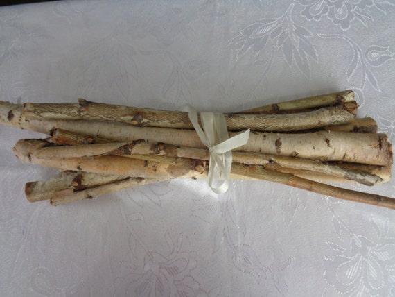 White birch branches birch sticks birch log craft supply for White birch log crafts