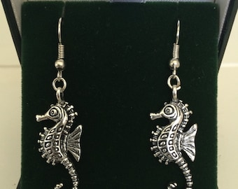 Stallion of the Sea Seahorse Earrings