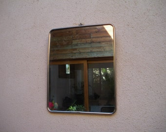 Great mirror of Barber - bathroom, 60 1960 years / vintage french mirror