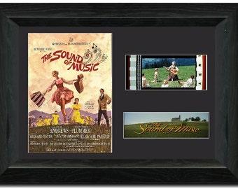 The Sound of Music 35 mm Framed Film Cell Display Framed Julie Andrews