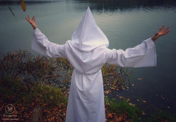 White Ritual Magic Robe
