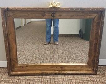Rustic Custom Mirror