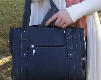 Tote Style Conceal Carry Purse