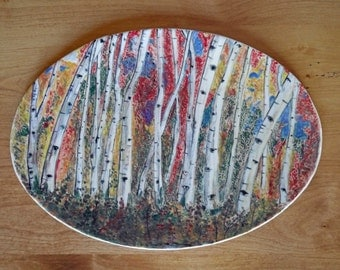 Autumn Aspen Platter