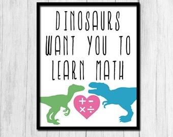 Classroom Poster Math Teacher Gift Digital Download Math Classroom Decor Funny Teacher Gift Printable Art Teacher Poster Math Poster Art