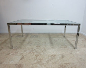 vintage mid century design institute american dining room conference table
