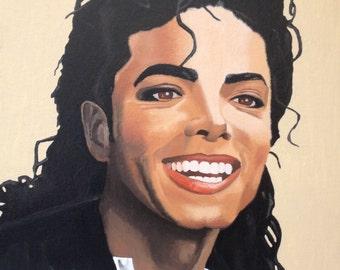 Michael Jackson - original oil painting 20x16