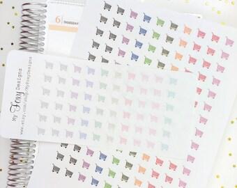 Shopping Cart Stickers, Grocery Shopping, Grocery Cart, Planner Stickers, Erin Condren, Happy Planner, Kikki K, Day Designer         [00124]