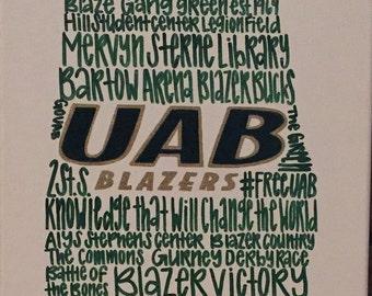 UAB Phrase Canvas