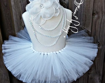 Newborn princess tutu and headband
