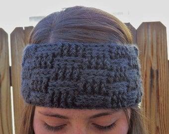 Basket Weave Stitch Headband