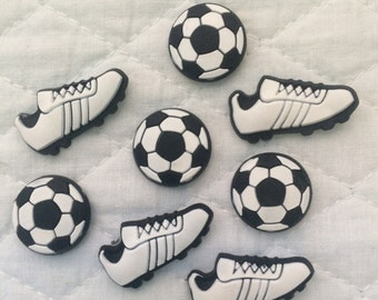Push Pins- Soccer ball and cleats
