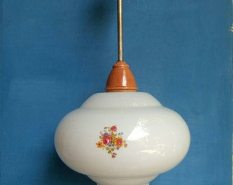 Lighting from 1970s. Pendant light vintage