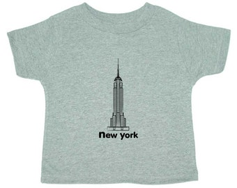 New York Empire State Toddler T-Shirt