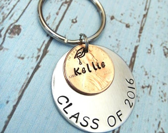 graduation key chain personalized graduation gift 2018