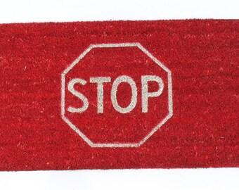 Doormat STOP