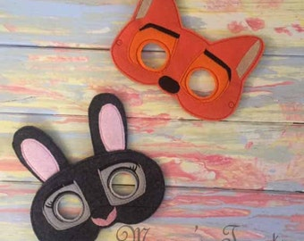 Zoo Adventure Felt Mask - Deluxe Felt Mask -- Kids Mask – Costume – Dress-Up -- Halloween -- Pretend Play -- Party Favor – MMTM0019