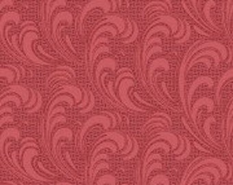 Regent's Park - Flourish Paisley Red by the Half Yard