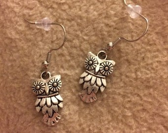 Owl Earrings - A13