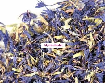 Blue Cornflower ~ Magick Herb ~ Half oz. Blue Cornflower ~ Magick Blue Cornflower ~ Herbal Alchemy ~ Witchcraft Herbs ~ Witchcraft Supplies