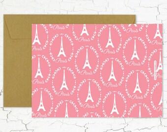 """Postcard """"La vie en rose"""""""