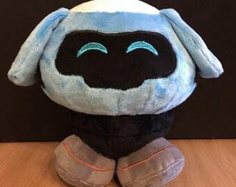Overwatch Inspired Mei's Snowball Robot Plush