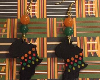 Black Africa Earrings