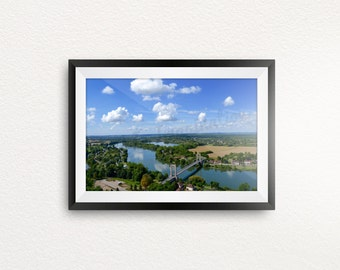 Calm Day in France, Serene Travel Photography Print