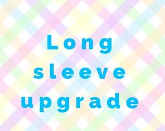 Long Sleeve Upgrade Add On