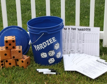 Yardzee, Farkle, Cooties - Great father's day gift - graduation party - tailgating - camping -