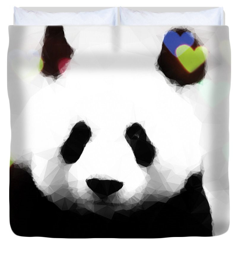 Panda Bear Duvet Coverdesigner Duvet Coverking Queen Full