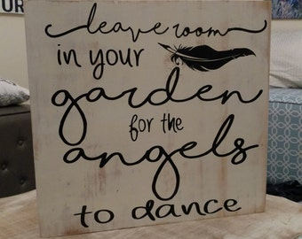 For Angels to Dance Sign