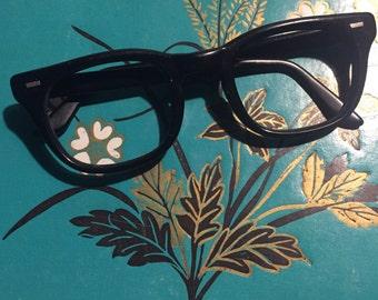Black vintage glasses frames