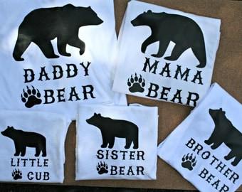 Bear Family Shirts