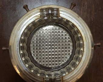 Vintage Glass Ash Tray