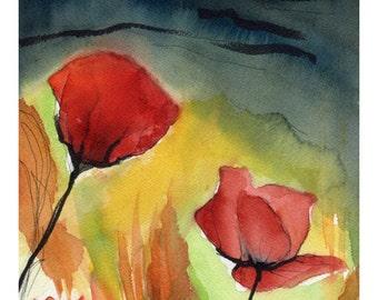 Tulipani - Tulips - Watercolor