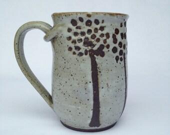 Unique Handmade Ceramic Mug, Coffee Mug, Beer mug, 19 oz UWW6