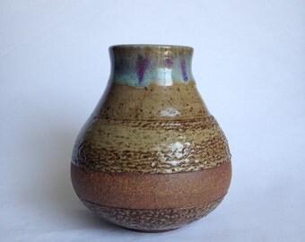 Ceramic Vase, Handmade, wheel thrown VT3