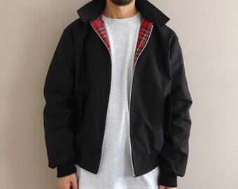90s Fit Harrington Jacket Black