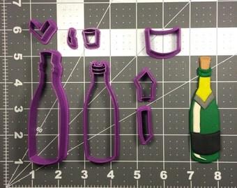 Wine Bottle 100 Cookie Cutter Set