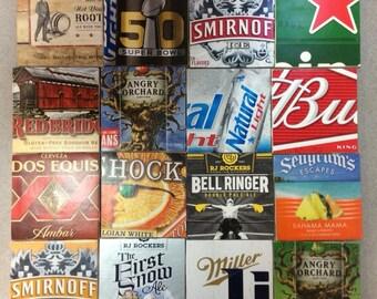 Beer Coasters - Tile Beer Coasters - Man Cave Coasters