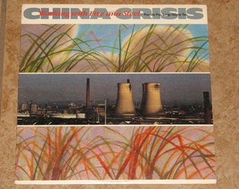 "China Crisis ""Working With Fire and Steel""  Record"