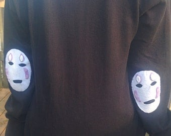 Grunge No Face Cardigan