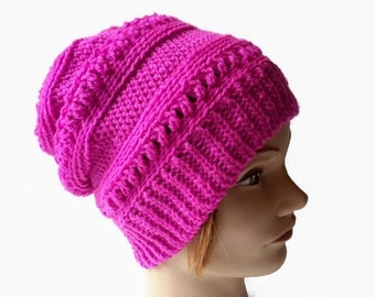 Crochet Women Hat, Winter Crocheted  Women Hat,  Crochet Women Beanie,Winter Womens Hat, Crochet Hat, Womens Gift, Women Beanie, Ready to Go