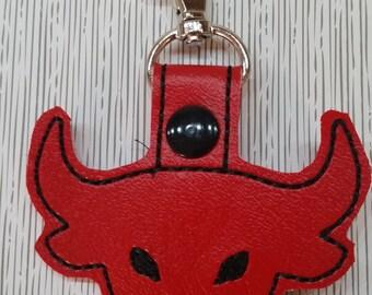 Bull head Key chain