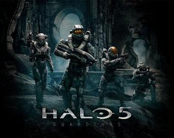 Halo 5 Fridge Magnet