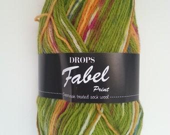 Drops Yarn Fabel - Guacamole #151