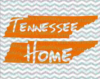 Tennessee Home Name Deign .SVG/.DXF/.EPS and .png Files for EveryVinyl Cutting Machine
