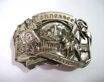 Tennessee Belt Buckle - Belt Buckle - Vintage Belt Buckle - Tennessee