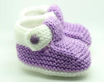 Newborn Socks - Baby Booties - Newborn Booties - Knitted Socks - Baby Socks - Newborn Outfit - Baby Girl Booties - Baby Shower